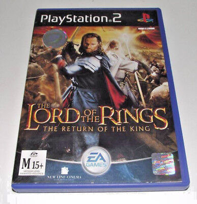 Lord of the Rings The Return of the King PS2 PAL *Complete*