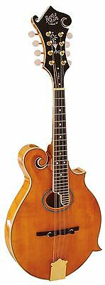 Barnes & Mullins Mandolin Scroll Top Style Piercy Model Acoustic Maple BM700