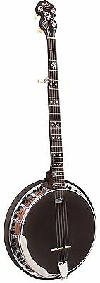 Barnes & Mullins Banjo 5-String Electric Rathbone Model Mahogany Rosewood BJ400E