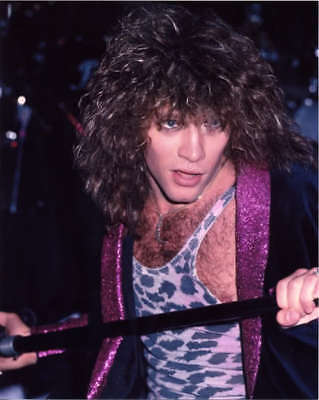 Jon Bon Jovi In Concert 8X10 Glossy Photo