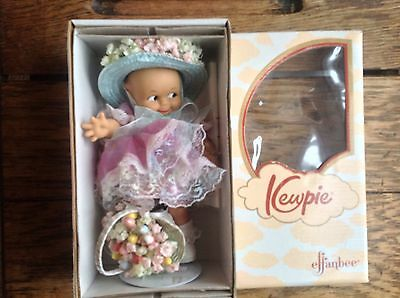 """EASTER DOLL BY EFFANBEE 8"""" WITH BOX RETIRED. MINT CONDITION!!"""