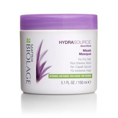 Matrix Biolage HydraSource Mask 150ml Hair Treatment Masque Hydrating