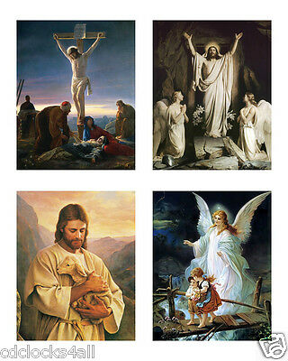4 JESUS 8 x 10 GLOSSY * 4 Photo Picture LOT - Christianity / Religion