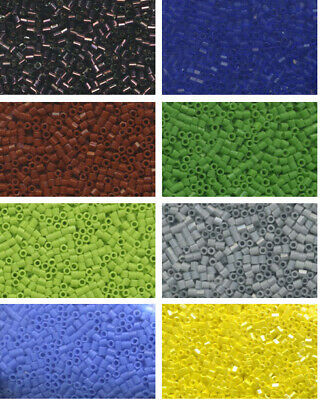 Toho 15/0 HEX CUT (HX) Japanese Cylinder Glass Seed Bead 25 grams (more or less)