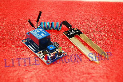 DC 12V soil humidity sensor controller module Automatic watering module A344
