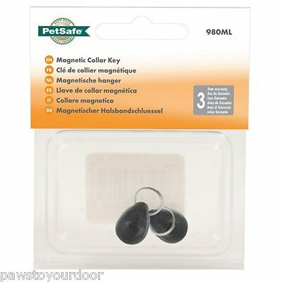 Staywell Petsafe 980 cat flap magnetic spare collar key pack of 2 catflap door