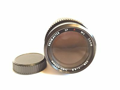 Promaster Sp MC Auto Zoom 1:4.5 f=80-200mm Camera Lens for Yashica Screw mount