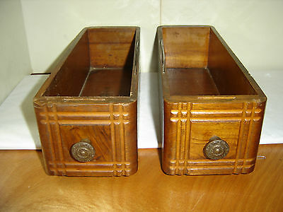 2 Antique 20`s Singer Treadle Sewing  Machine  Drawers, Make Offer