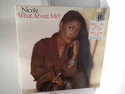 Nicole - What about me   .......................  Vinyl