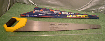 New 22 inch Hardpoint Wood Tenon Hand Saw 8 TPI Heavy Duty Carbon Steel -British