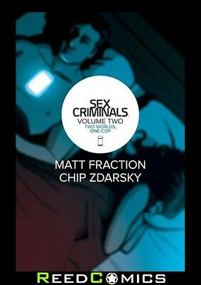 SEX CRIMINALS VOLUME 2 TWO WORLDS ONE COP GRAPHIC NOVEL Collects Issues #6-10