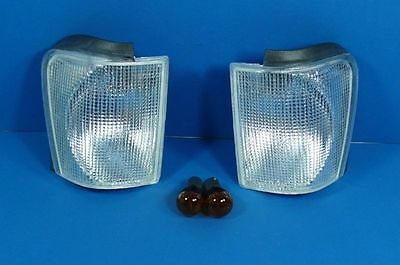 white indicator Front VW Scirocco 2 Type 53B 81-92 Set with Parking light radio