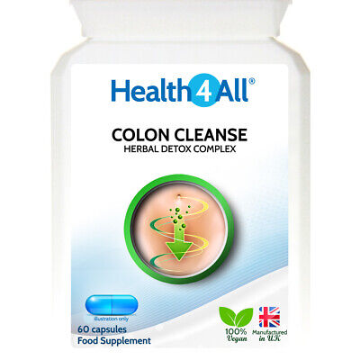 Detox-Colon Cleanse Capsules | KICK-STARTS WEIGHT LOSS | TOP QUALITY HERBS