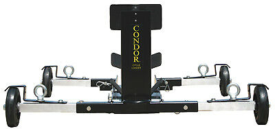 CONDOR Cycle Loader - Motorcycle Chock - For Rollback Tow Trucks