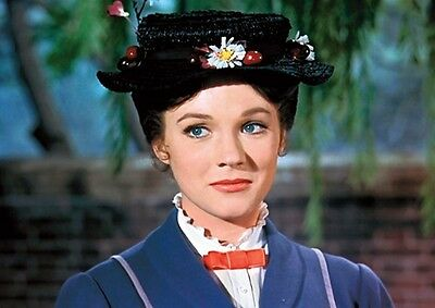 Mary Poppins Julie Andrews Hat Poster