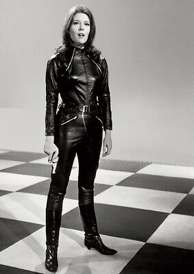 The Avengers Emma Peel Diana Rigg Poster Check