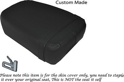 CARBON FIBRE VINYL CUSTOM FITS YAMAHA WR 400 R 98-02 DUAL SEAT COVER ONLY