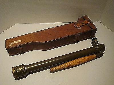 ORIGINAL WW1 US 1918 TRENCH PERISCOPE AND LEATHER CASE
