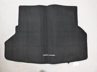 2008 - 2013 Toyota Highlander Genuine Oem  Cargo Mat Carpet Rear Trunk Liner