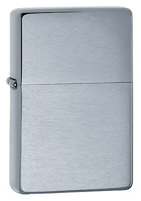 Zippo Windproof 1937 Vintage Brushed Chrome Lighter, # 230.25, New In Box