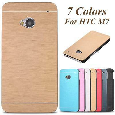 Hard Metal Aluminum Case Slim Back Cover for HTC One M7/M8/M9 Sony Samsung