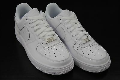 [314192 117] Kid's Gs New Nike Air Force 1 Low All White Grade School Youth Wk2