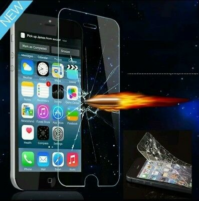 100% GENUINE TEMPERED GLASS FILM SCREEN PROTECTOR FOR APPLE iPhone 6 4.7