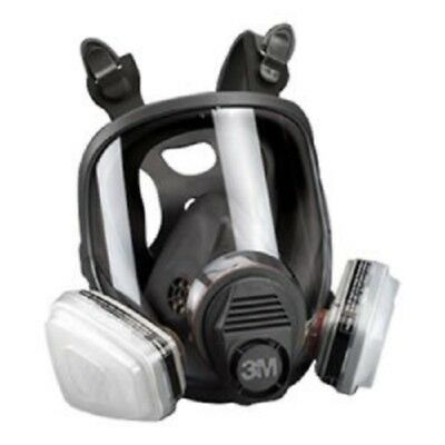 3M 07162 Full Facepiece Spray Paint Respirator Organic Vapor P95, Medium 7162
