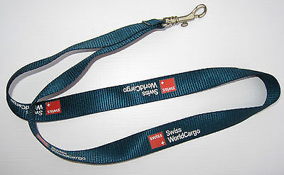 Swiss International Air Lines WorldCargo Schlüsselband Lanyard NEU (T182)