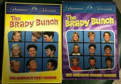 The Brady Bunch - The Complete 1st First 2nd Second Season DVD Box Sets 8 Discs