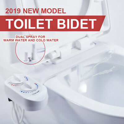 Hygiene Water Wash Clean Unisex Easy Toilet Bidet /  Seat Attachment Upgrade