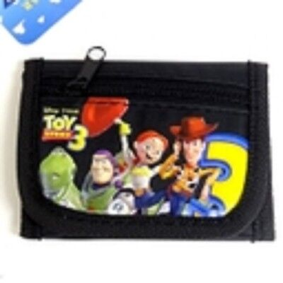 Disney Toy Story 3 Mini Tri-fold Wallet-Toy Story+Friends Black Wallet-New!