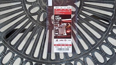 Rare Adam Eaton Chicago White Sox Mlb Debut Full Unused Ticket 9/4/2012
