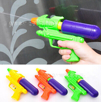 1*Ramdon Color Kids Summer Water Squirt Toy Children Beach Water Gun Pistol MGUS