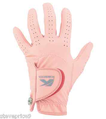 Kasco Ladies Pink Fashion Fit Golf Glove. Small. Right Hand For A Left Hander.