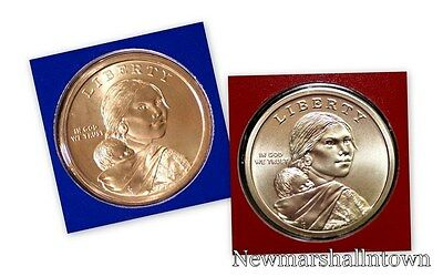 2015 P+D Native American Sacagawea Set ~ PD in Original Mint Wrap  No S Proof