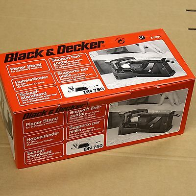 Black & Decker A5551 Planer Stand For Stationary Working Fit Dn750