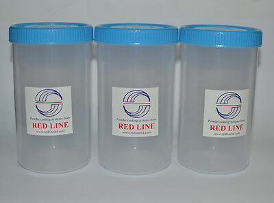 Red Line EZ50 EZ100 Extra Spare Cups for Powder Coating Gun! Pack of 3!