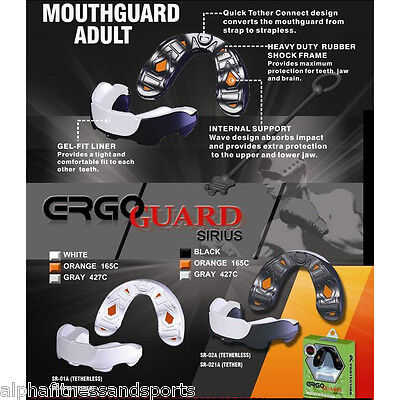 Mouth Guard Mouthguard Piece Shock Frame MMA New Sports Rugby Boxing A+ Adult