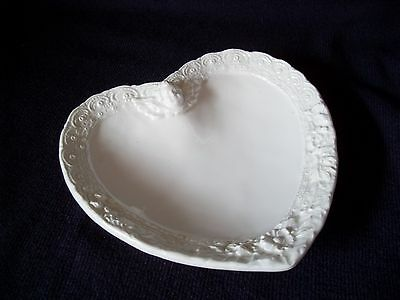 Heart Shaped Dish ~ Made in Italy ~ Stamped # 6722