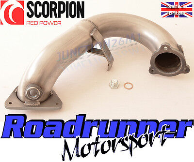 "Scorpion Megane RS250 RS265 De Cat Turbo Downpipe 3"" Exhaust Stainless SRNC022"