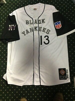 Black Yankees Official Negro Leagues Jersey 4Xl Nlbm Used some stains but  RARE 96acb8d6a4d