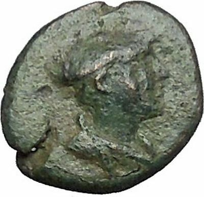 Lysimacheia in Thrace 309BC RARE Ancient Greek Coin Hermes Sports  i49796