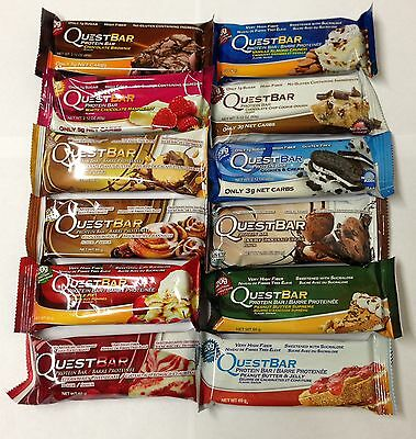 Quest Nutrition, 12 Protein Bars, Mixed bars set - NEW STOCK