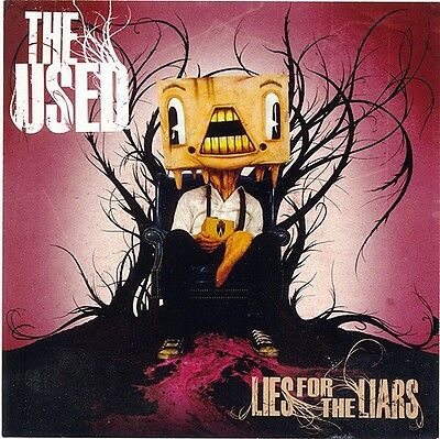 The Used Lies For the Liars RARE promo stickers (2) '07