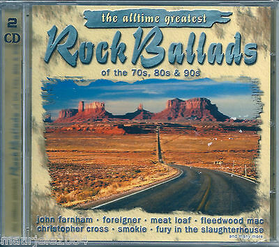 Rock Ballads (2002) 2CD NUOVO SIGILLATO Meat Loaf, Deep Purple, Scorpions, Tyler