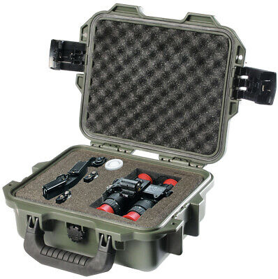 OD Green Pelican Hardigg Storm IM2050 Case with foam + FREE engraved nameplate