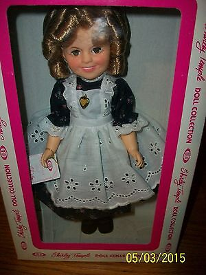 """Vintage 1982 Ideal Doll 12 inch Shirley Temple in""""Littlest Rebel"""" NIB"""