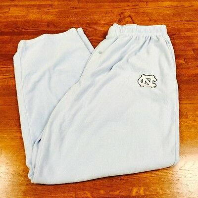 Mens UNC North Carolina Tarheels Bottom Drawers Sleepwear Pants Pajamas Sz 2XL
