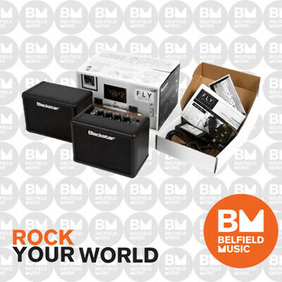 Blackstar Fly-3 Stereo Pack 3w Portable Mini Guitar Amp + 103 Ext Cab + Power